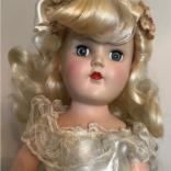 Ideal P90Beautiful Toni Bride Doll 14 close up eBay seller trsm86